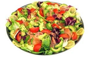 Dr Holly healthy fat salad